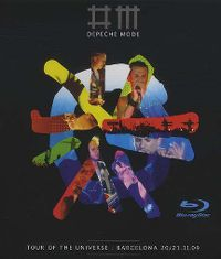 Cover Depeche Mode - Tour Of The Universe: Barcelona 20/21.11.09 [DVD]